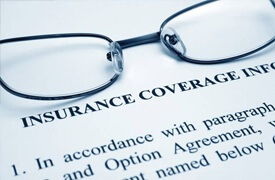 Insurance coverage documents