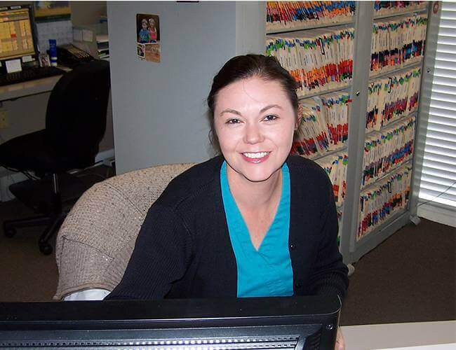 River Ridge dental receptionist, Jodi